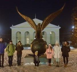 Выезд в Орёл